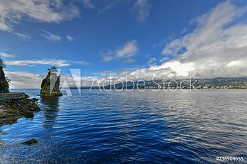 Adobe Stock image of a body of water and shoreline.