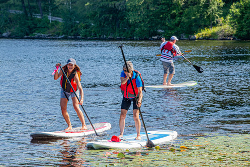 One of the modes of transport in Muskoka's Incredible Race