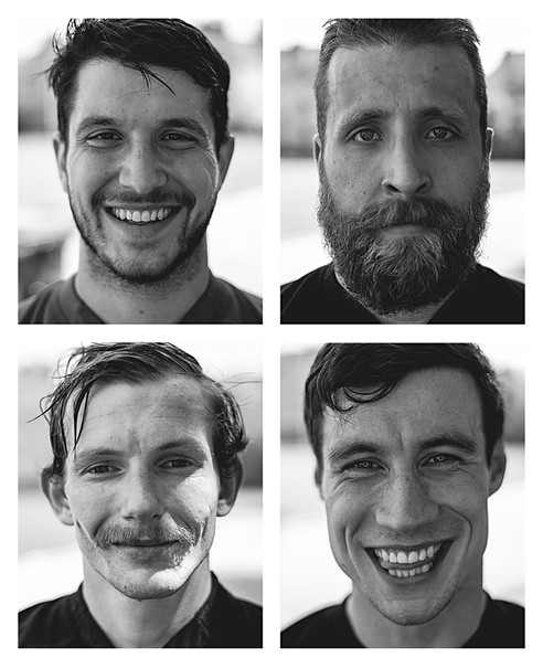 Rugby Player Portraits