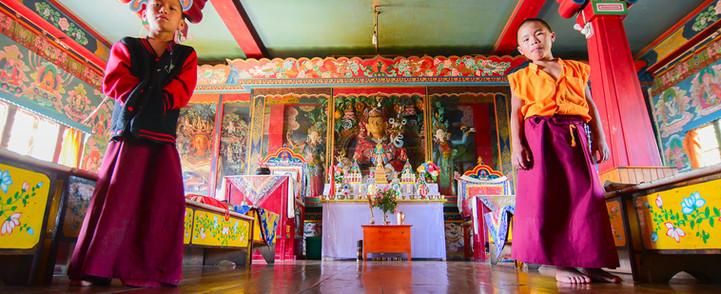 Rinchenpong monastry. Snowlion expeditio