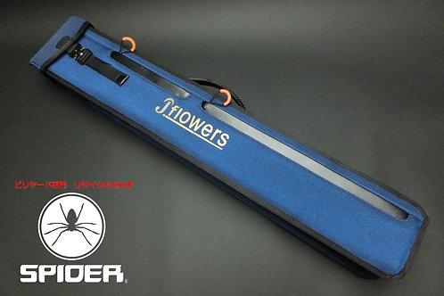 31489 ジェイフラワー J.Flowers ソフトケース 3B5S 青 軽量 撥水 ケース SPIDER