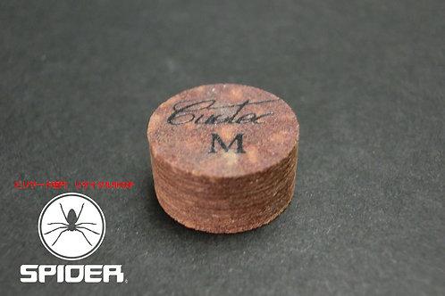 ◆【ラスト2個】ティップテック Tiptec M Cuetec 豚革 積層 14mm タップ バラ ソノタ SPIDER