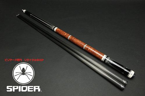 14956 超希少 特別モデル エクシード Exceed EX-50AM1 イグナイト2本 黒檀 ウッドグリップ WJ カスタム SPIDER□