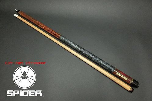 14978 メーカー不明 子持6剣 リネングリップ 樹脂インレイ 10山 ノーマル CUE SPIDER