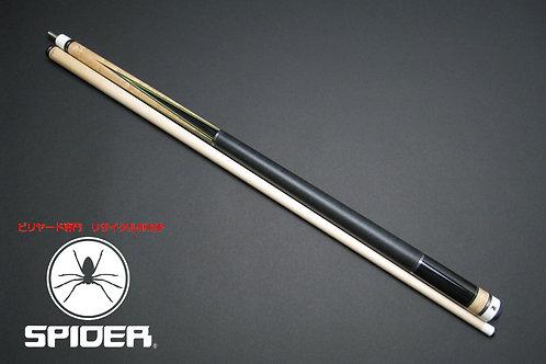 14574 使用数回レベル 美品 アダム Adam MUGEN-1 VIsolid8 ハイテク CUE SPIDER