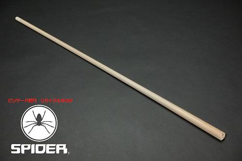 22697 アダム Adam Solid12Max ラジアル用 105g 黒無地薄リング ハイテク SPIDER