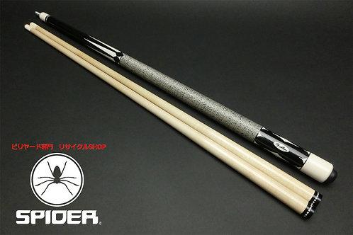 14988 豪華 美品 シュレーガー Schrager 黒檀 インレイ6剣 2シャフト 使用数回レベル カスタム SPIDER