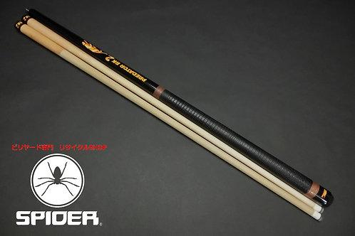 14945 プレデター Predator BK2 2シャフト 革巻きグリップ 樹脂タップ ハイテク ブレイク SPIDER