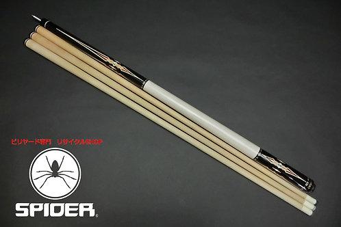 14801 エクシード Exceed インレイ4剣 黒檀 WJ 3シャフト ノーラップ加工 カスタム SPIDER