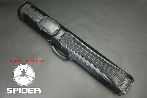 31480 ジェイアンドジェイ J&J 大容量ハードケース 3x6 合皮 スプリング ケース SPIDER