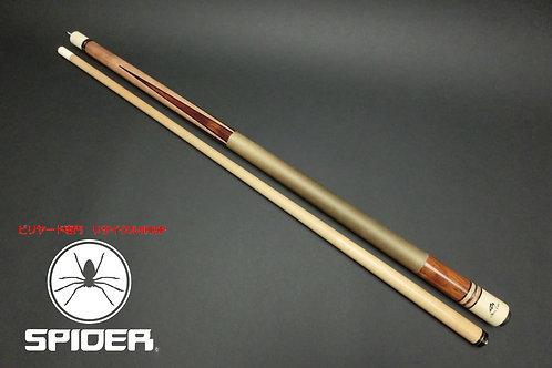 15027 メッヅ Mezz SD-4 ステインメープル 4剣 リネン ノーマルシャフト CUE SPIDER