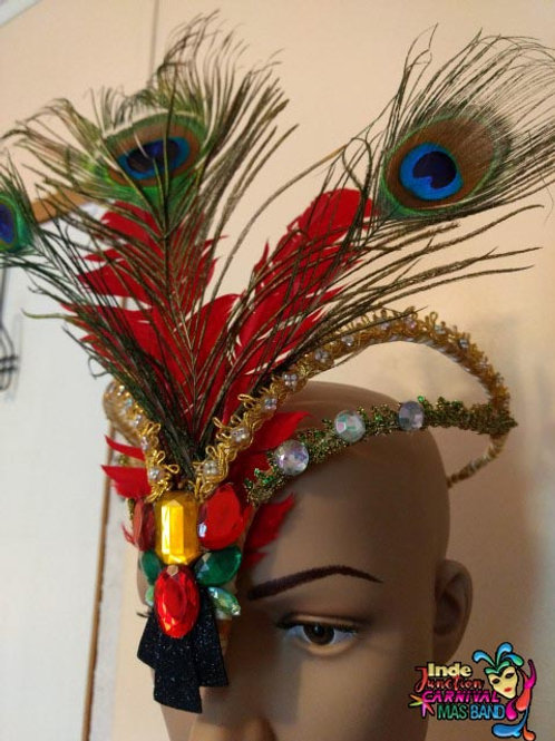 CROWN w/Red Feathers