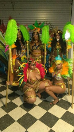 Inde Junction mas Costumes 2019 queens a