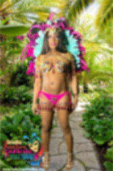 Rihanna Tropical backgroundINDE JUNCTION