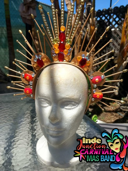 SUNSET SPIKED CROWN