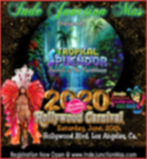 hollywood carnival poster 2020 TROPICAN