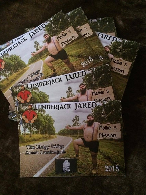 Lumberjack Jared Calendar