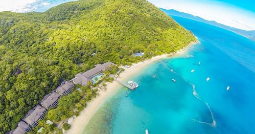 The beautiful Fitzroy Island Resort
