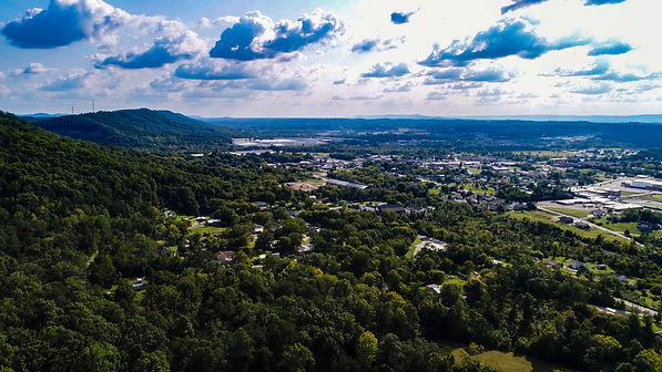 landscape photograph taken in Ringgold Georgia USA