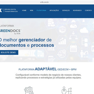 Site W3K Tecnologia
