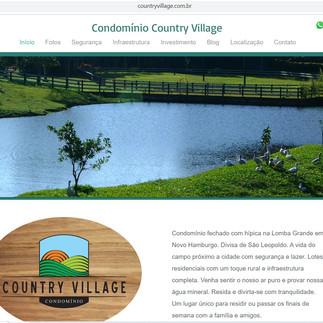 Site Condomínio Country Village