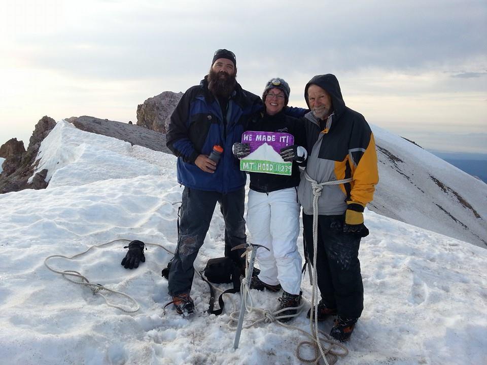 MFB Climbs Mt.Hood