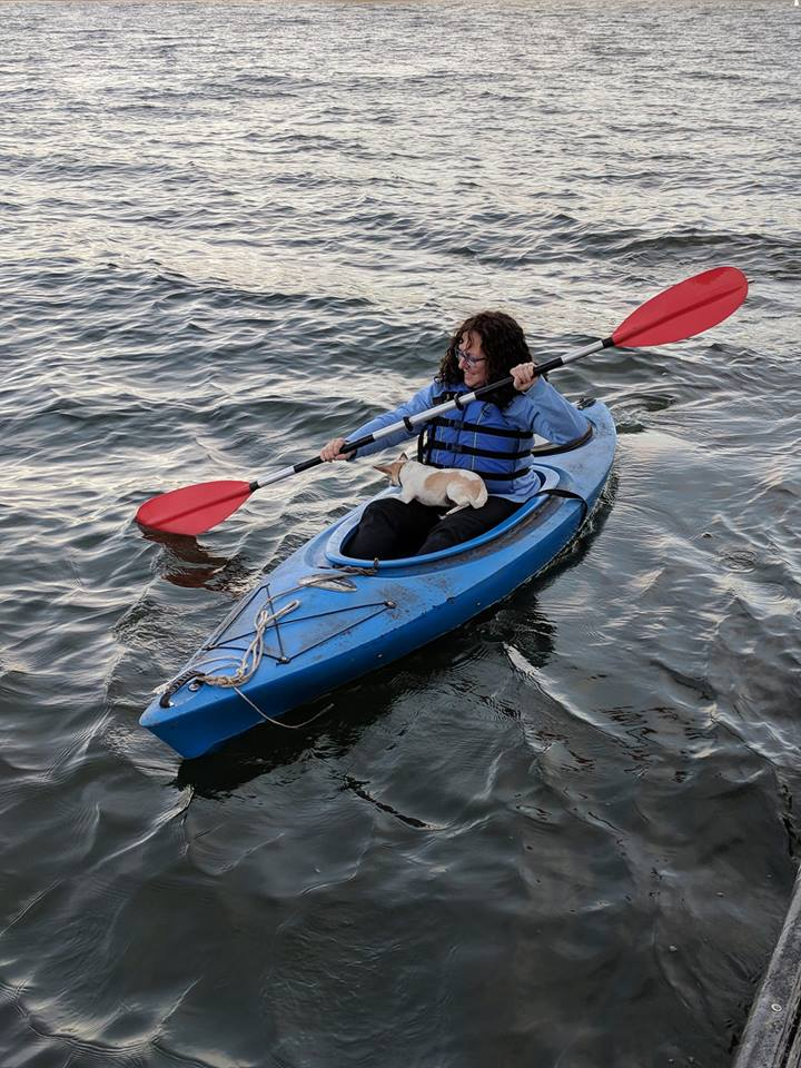 Mary Faith Bell's kayaking adventure