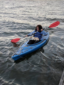 Mary Faith Bell's kayaking adventure
