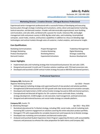 Mid to Late Career_Resume_Sample_ATS Com