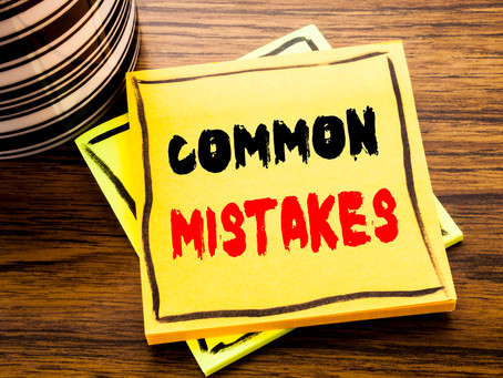 Bad Mistakes. I've Made a Few. How to Recover from a Mistake in Your Job Interview.