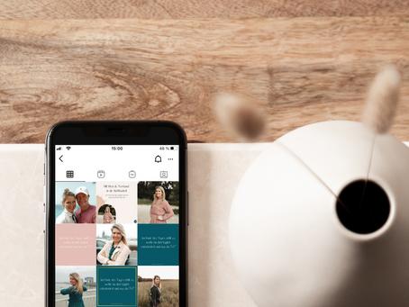 4 Tipps für dein Instagram Design