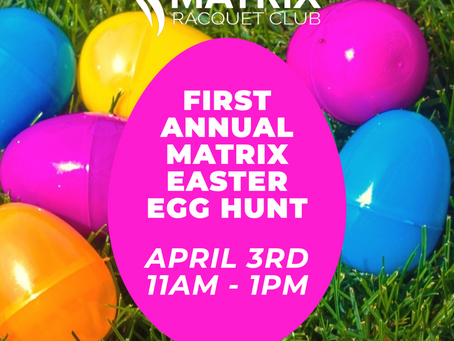 FIRST ANNUAL EASTER EGG HUNT