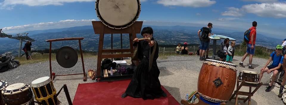 "Fabien Saye Kanou et Mayu Sato ""Taikokanou"""