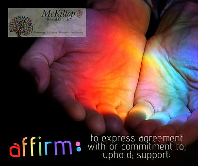 to express agreement with or commitment