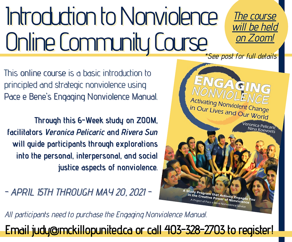 Introduction to Nonviolence Online Commu