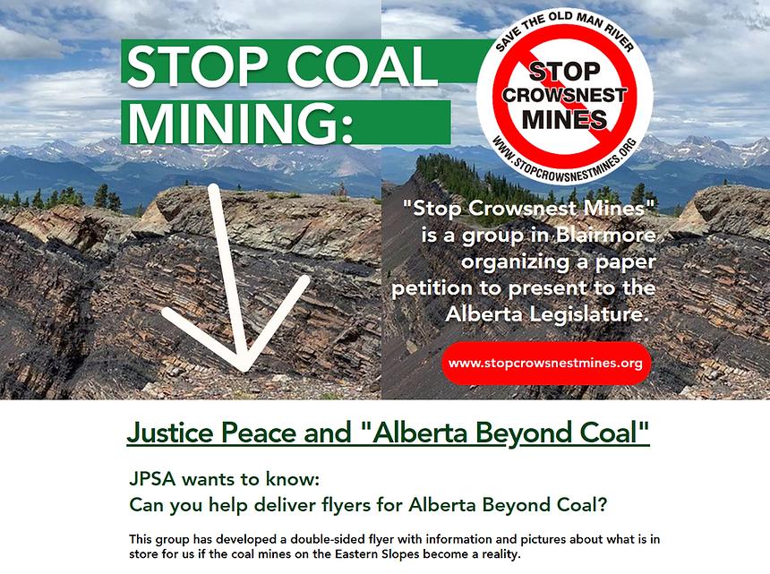 Justice Peace and Alberta Beyond Coal.pn