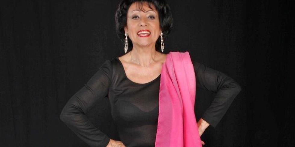 ANGELINA MONTI feiert ihr 60 jähriges Bühnenjubiläum am 29.05.19 im Walhalla im Exil