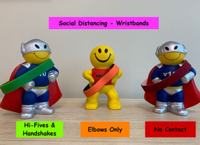 Social Distancing Wristbands