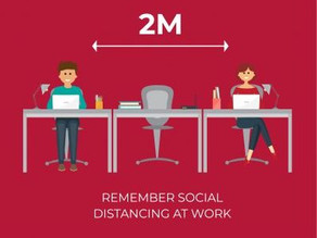 Social Distancing During Work