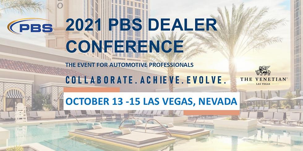 2021 PBS Dealer Conference