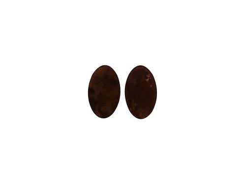 Earrings dark size M
