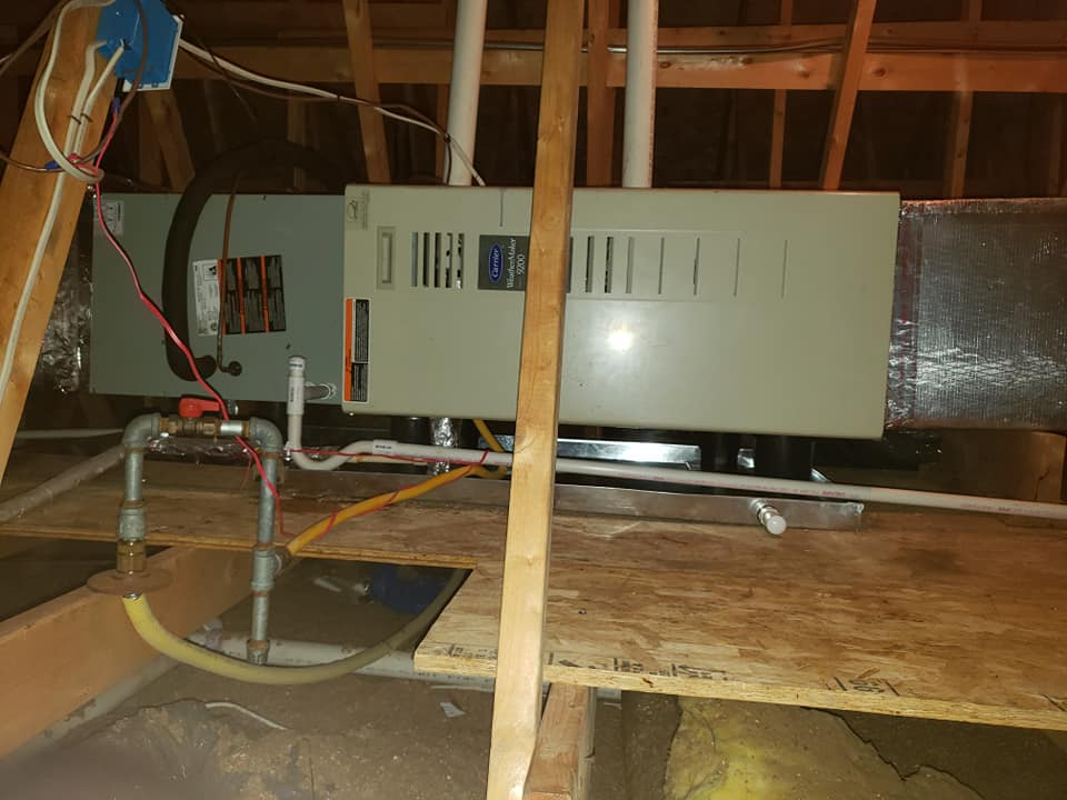 A/C Condenser & Cased Evaporator Coi