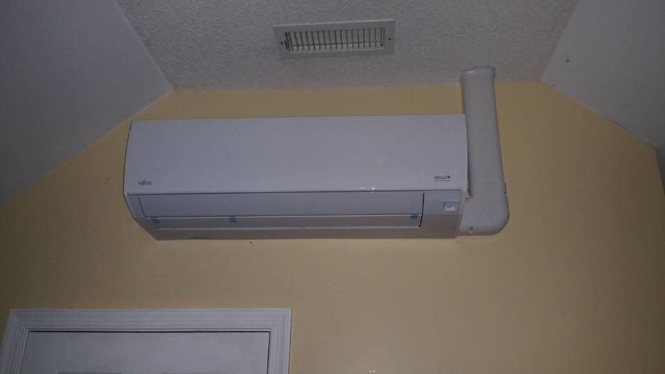 Fujitsu 12k 29seer heat pump 14hspf