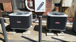 4 and 5 ton Arcoaire 3 phase heat pumps