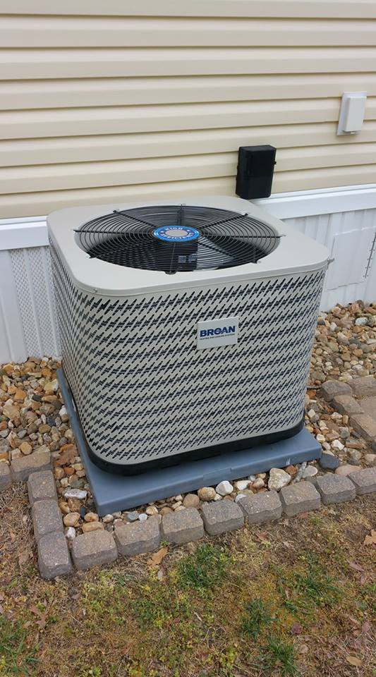 2.5 ton Broan 14 SEER Mobile Home Condenser