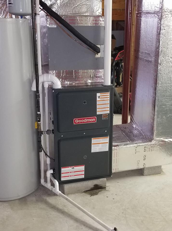 Goodman 92% AFUE Furnace only replac