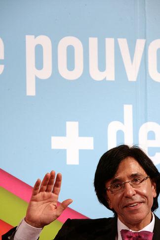 Elio Di Rupo, président du Parti Socialiste