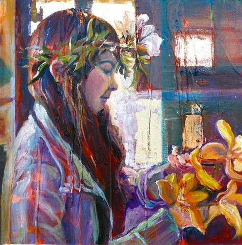 Spring Maidens art - Moira Pagan