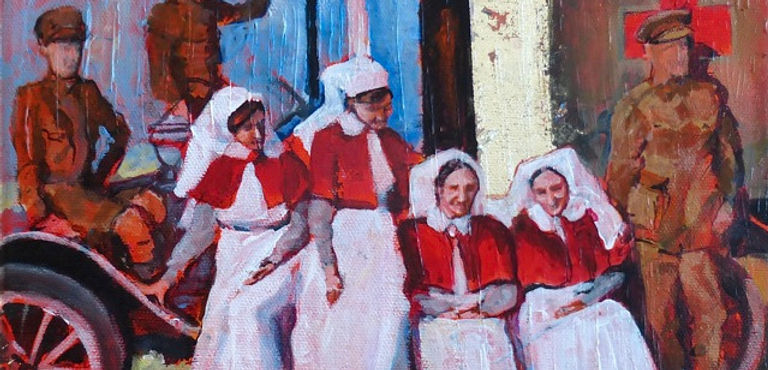 Anzac Nurses  - Moira Pagan