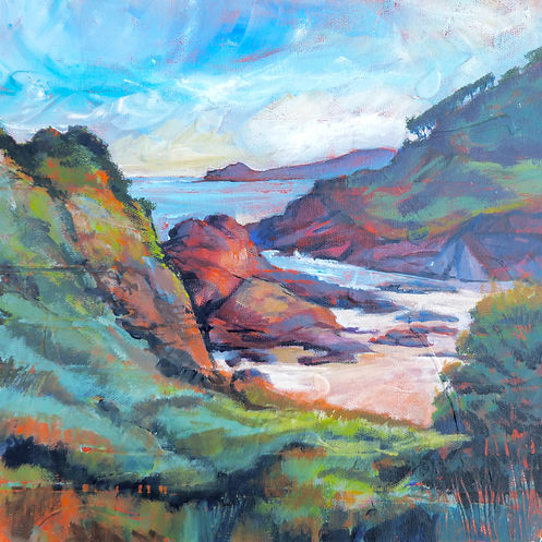 Coast Paintings - Moira Pagan